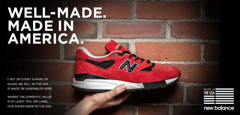 new balance footwear's commitment to manufacturing Yes, new balance has been committed to locally producing high-quality shoes in the uk since 1982 we are proud to support domestic manufacturing in didn't order on site items purchased at a new balance authorised reseller cannot be returned to newbalancecouk as the contract of purchase is.